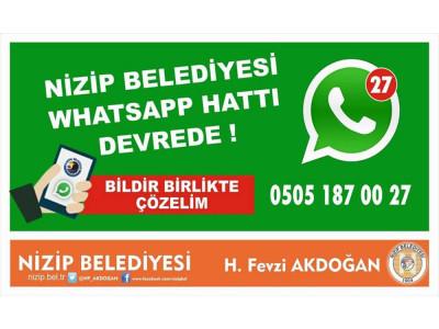 WhatsApp İhbar Hattı Hizmetimizden memnun musunuz ?
