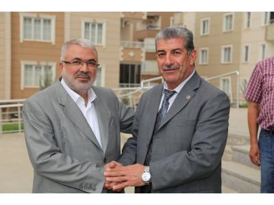 Gaziantep Esnaf ve Sanatkarları Odaları Birliği Başkanı Ömer Küsbeoğlu, Belediyemizi Ziyaret Etti.