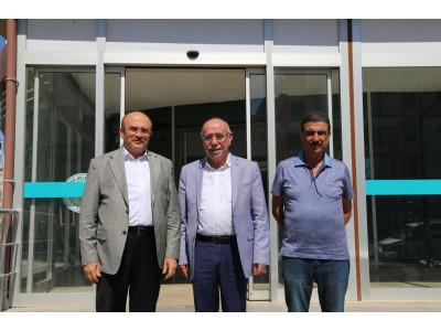 Birecik Belediye Başkanımız Sayın Mahmut Mirkelam'ı Misafir Ettik.
