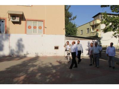 Şahinbey Mahallemize Bayanlar Taziye Evi İçin Yer Tespitini Yaptık
