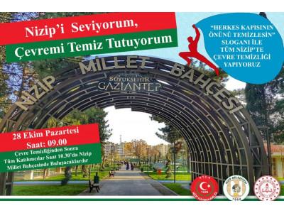 """""""Nizip'i Seviyorum, Çevremi Temiz Tutuyorum"""""""