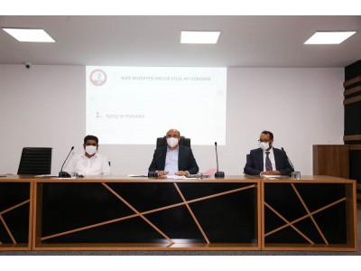 Eylül Ayı Olağan Meclis Toplantımızı Belediye Başkanımız Mehmet Sarı'nın Başkanlığında Tamamladık.