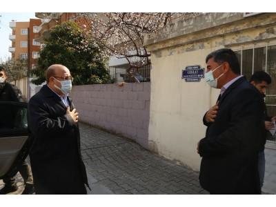 Başkanımız Mehmet Sarı, Fırat ve Menderes Mahalle Muhtarlarımızı Ziyaret Etti