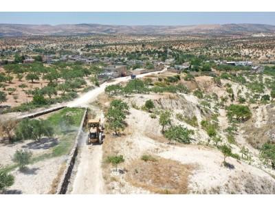 Kırsal Mahallelerimiz Arazi Yolları Açma Ve düzenleme (Kıratlı)