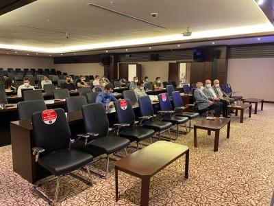 Başkanımız Mehmet Sarı, 2. OSB'nin yer tespit toplantısına katıldı